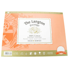 Daler Langton Prestige Watercolour Pad HP Block