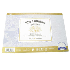 Daler Langton Prestige Watercolour Block Rough