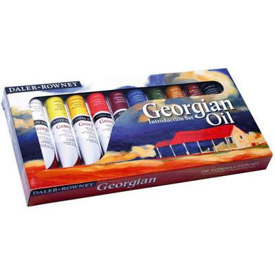 Daler Rowney Georgian Oil Introduction Set 10x 22ml