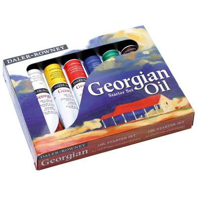 Daler Rowney Georgian Oils Starter Set 6x 22ml