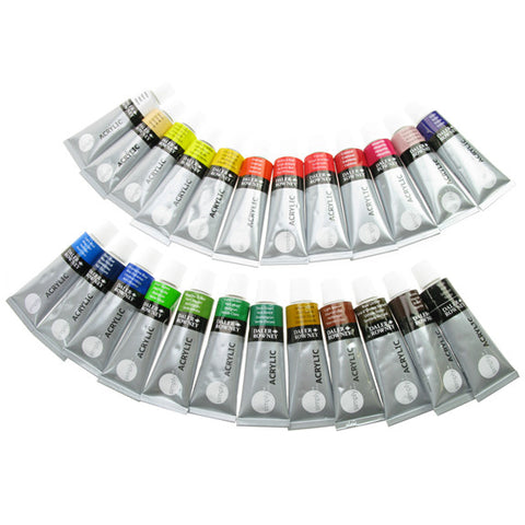 Daler Simply Acrylic Set 24 x 12ml Tubes