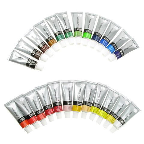 Daler Simply Watercolour Set 24 x 12ml Tubes