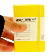 Leuchtturm 1917 Notebook Mini Ruled Lemon