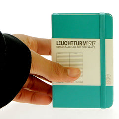 Leuchtturm 1917 Notebook Mini Ruled Emerald