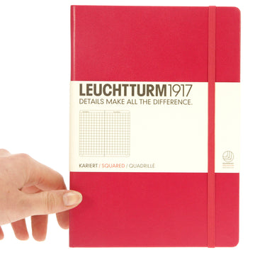 Leuchtturm 1917 Notebook Medium Squared Berry