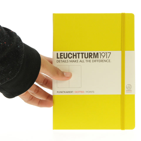 Leuchtturm 1917 Notebook Medium Dotted Lemon