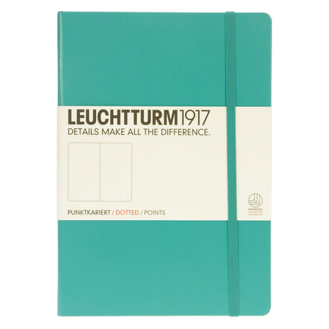Leuchtturm 1917 Notebook Medium Dotted Emerald
