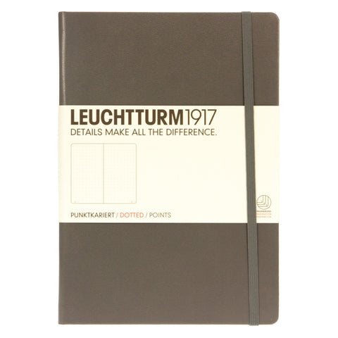 Leuchtturm 1917 Notebook Medium Dotted Anthracite
