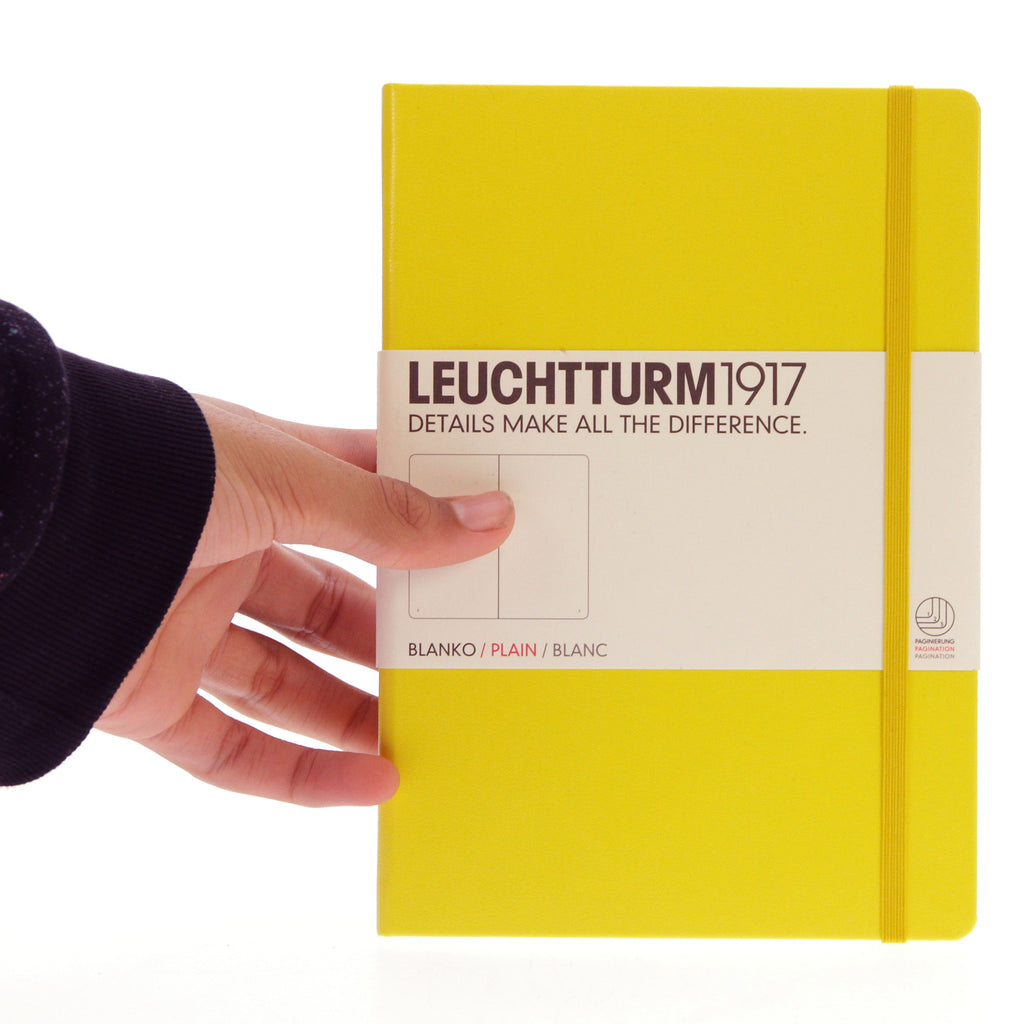 Leuchtturm 1917 Notebook Medium Plain Lemon