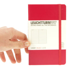 Leuchtturm 1917 Notebook Pocket Ruled Berry