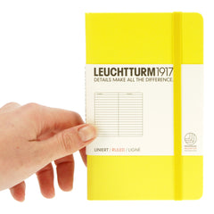 Leuchtturm 1917 Notebook Pocket Ruled Lemon