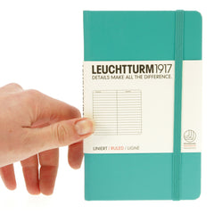Leuchtturm 1917 Notebook Pocket Ruled Emerald