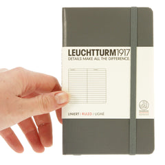 Leuchtturm 1917 Notebook Pocket Ruled Anthracite