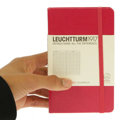 Leuchtturm 1917 Notebook Pocket Squared Berry