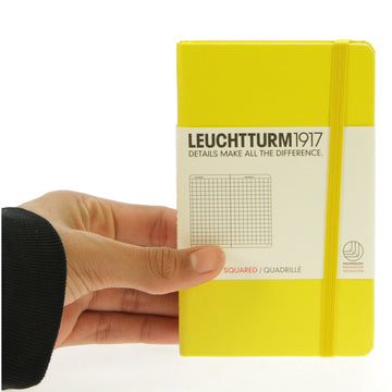 Leuchtturm 1917 Notebook Pocket Squared Lemon