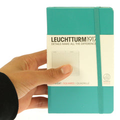 Leuchtturm 1917 Notebook Pocket Squared Emerald