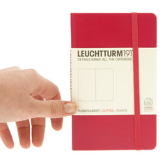 Leuchtturm 1917 Notebook Pocket Dotted Berry