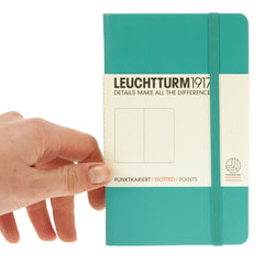 Leuchtturm 1917 Notebook Pocket Dotted Emerald