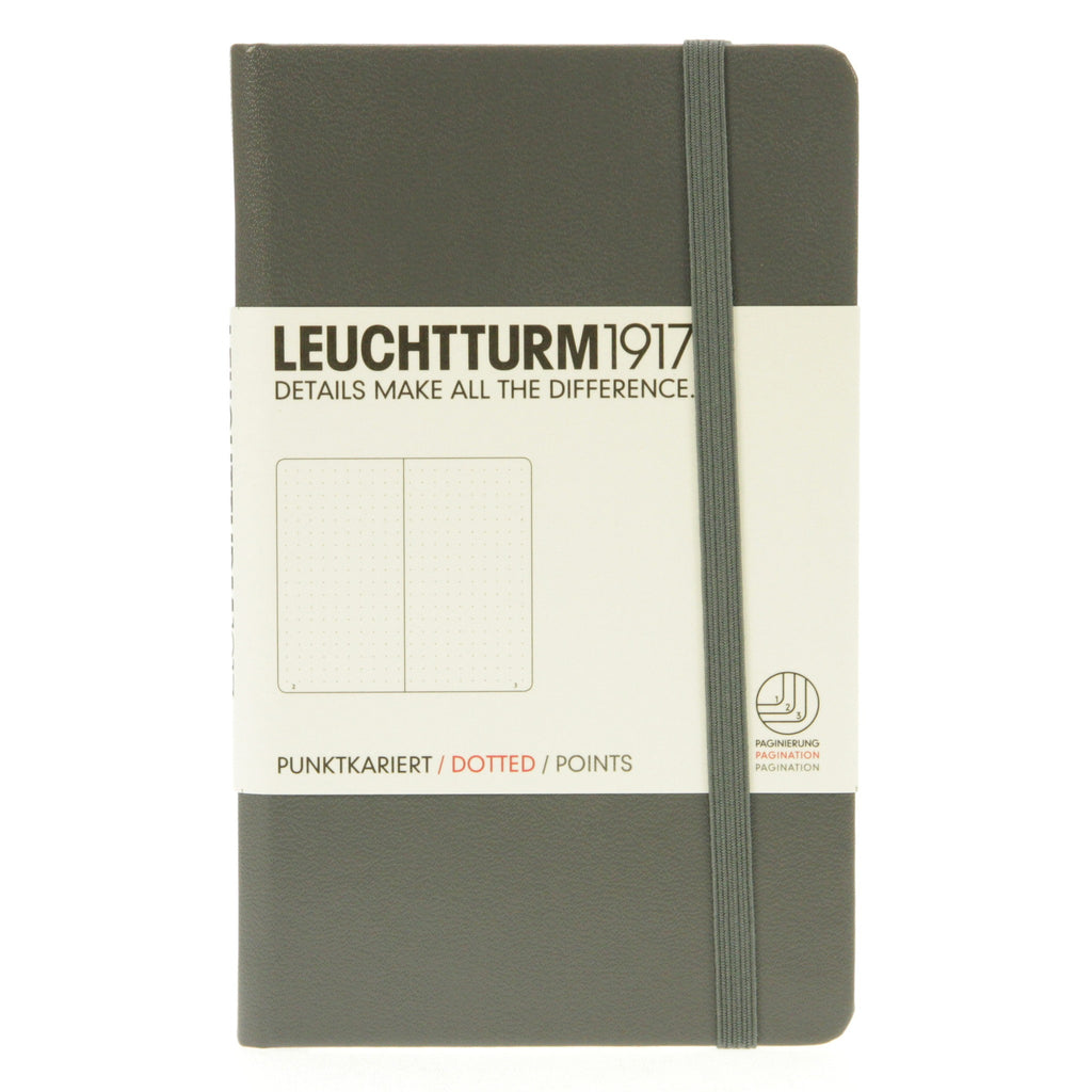 Leuchtturm 1917 Notebook Pocket Dotted Anthracite