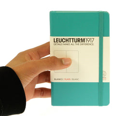 Leuchtturm 1917 Notebook Pocket Plain Emerald
