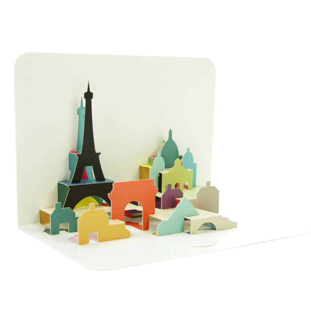 Form Folding Cards - Paris