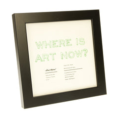 "Picture Frame - Black - 6"" x 6"""