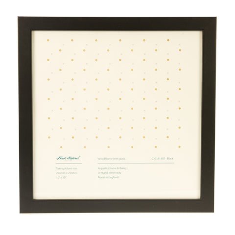 "Picture Frame - Black - 10"" x 10"""