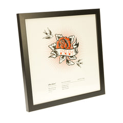 "Picture Frame - Black - 12"" x 12"""