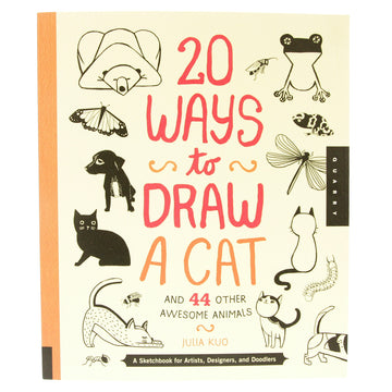 20 Ways to Draw a Cat Book