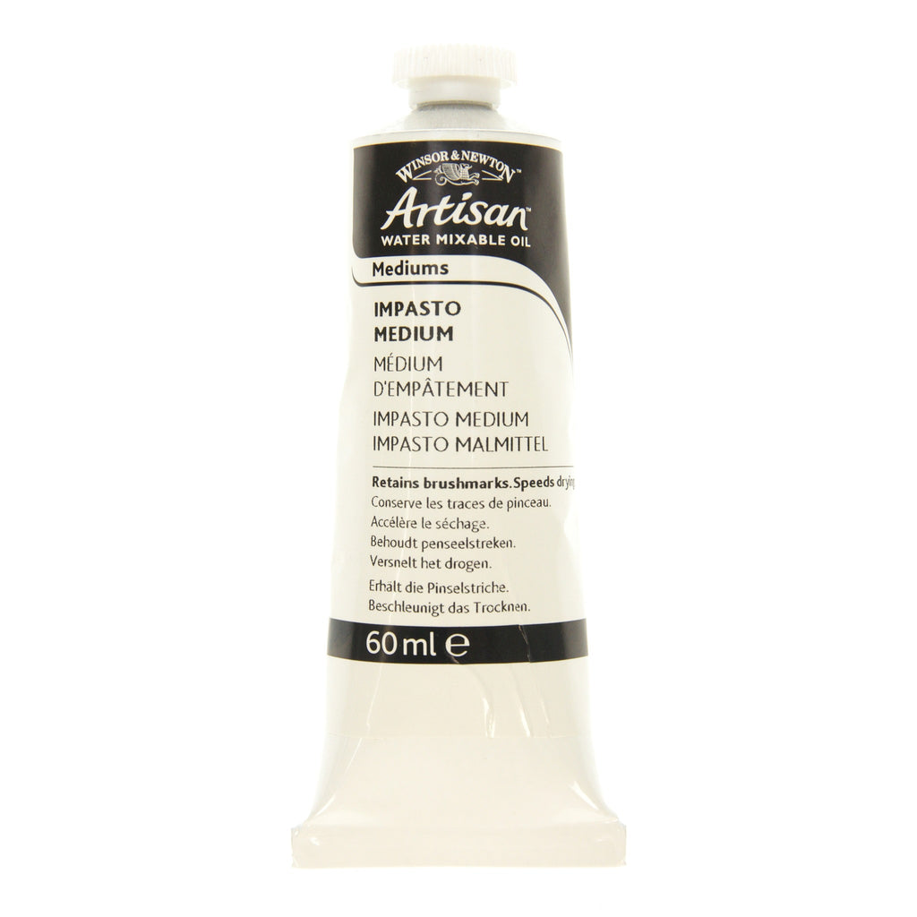 Winsor & Newton Artisan Water Mixable Oil Impasto Oil Medium 60ml