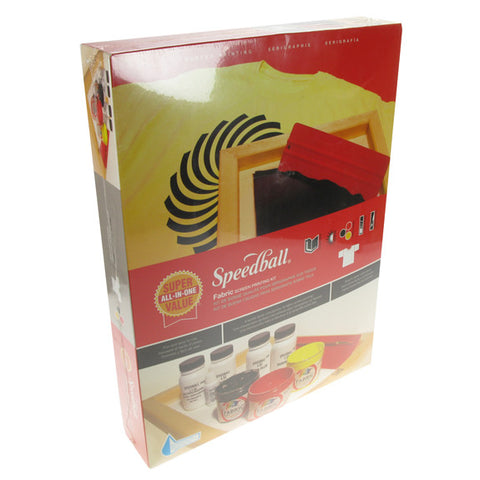 Speedball Value Fabric Screen Printing kit