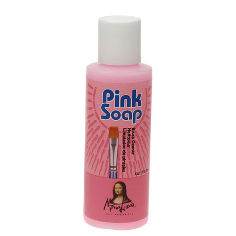 Speedball Pink Soap Brush Cleaner 118.2ml