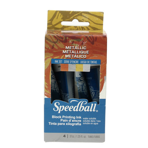 Speedball Metallic Block Printing Inks