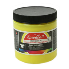 Speedball Night Glo Fabric Screen Printing Ink 236ml