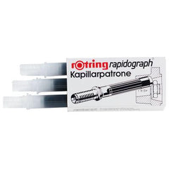 Rapidograph Cartridge 3pk