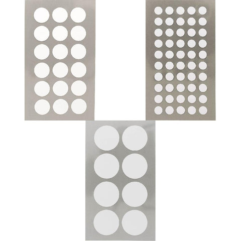 Rico Office Stick White Dots 4 Sheets 7x15.5 cm