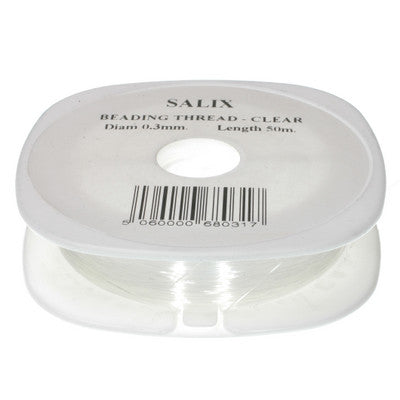 Nylon Thread - Clear - 50mt Diam 0.3mm