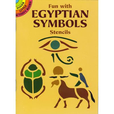 Fun With Egypt Symbol Stencil