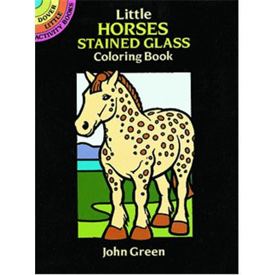 Little Stained Glass Horses