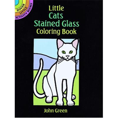 Little Stained Glass Cats