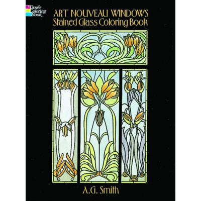 Art Nouveau Windows Stainglass