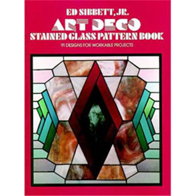 Art Deco Stained Glass Pattern