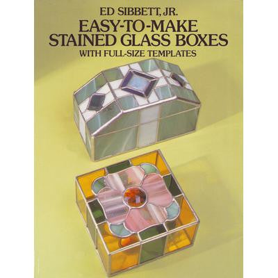 Easy-To-Make Stain Glass Boxes