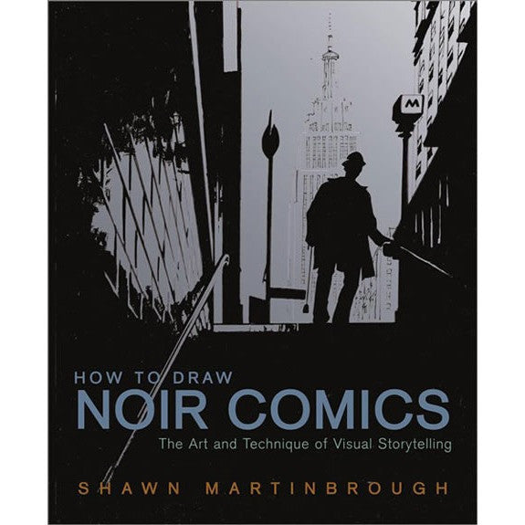 How to Draw Noir Comics Book