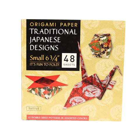 Origami Paper - Traditional Japanese Designs - Small