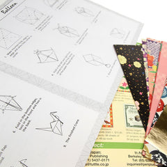 Origami Paper - Traditional Japanese Designs - Large