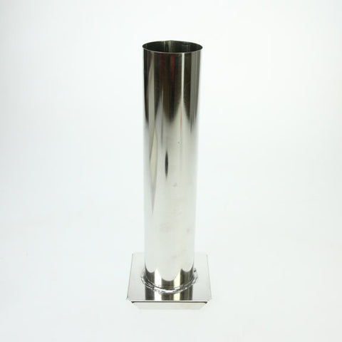 Metal Candle Mould - Cylinder 52mm x 240mm