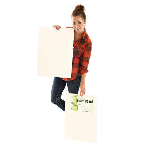 Biodegradable Foam Board - 5mm - White - A2 - 2pk
