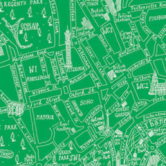 Michael A Hill Map Wrap - London