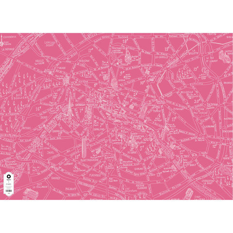 Michael A Hill Map Wrap - Paris